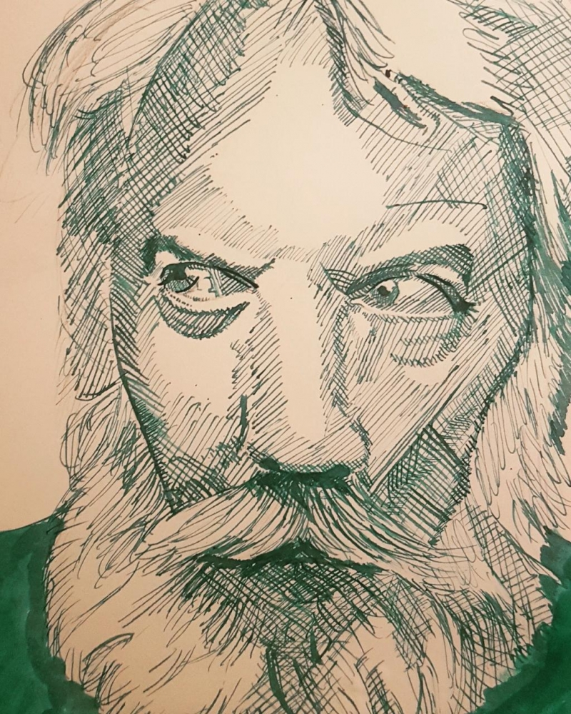 Donald Sutherland by Varoh